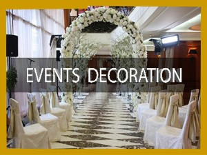 EVENTS mall decorations